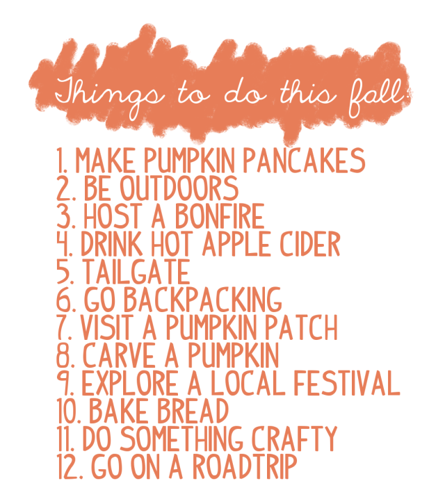 12 things to do this fall