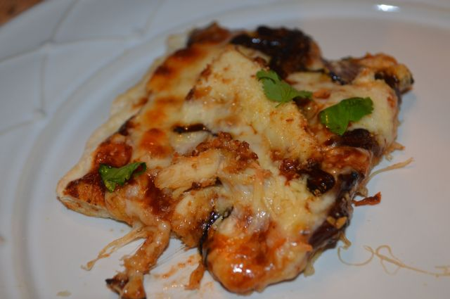 BBQ chicken pizza-it is well.
