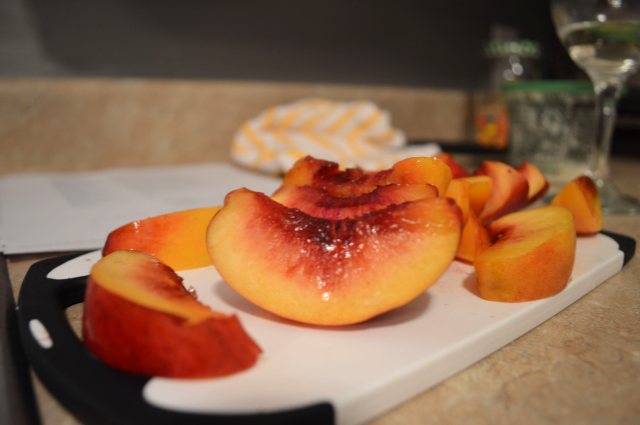 PC with Grilled Peaches